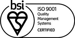 BSI - ISO 9001 Certified